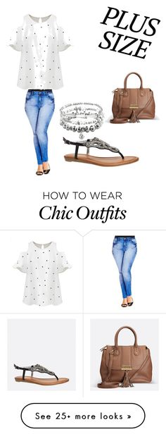 """""""Comfy casual"""" by stella2312 on Polyvore featuring City Chic, Chicnova Fashion and Avenue"""