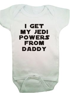 Star Wars baby :).We have to get one when we have a kid @Jess Pearl Pearl Pearl Pearl Liu Bittner