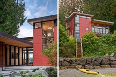 AIA SEATTLE   NORTHWEST HOME MAGAZINE HOME OF THE MONTH NOVEMBER 2010, Coates Design, exterior.