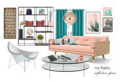 """Happy Home"" by stylepix ❤ liked on Polyvore featuring interior, interiors, interior design, home, home decor, interior decorating, Zoffoli, Art Addiction, Sun Zero and Tom Dixon"