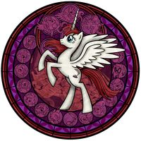 Lauren Faust pony the o mighty Fausticorn