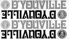 This logo of D'Youville College is taken from an early 1970s brochure; click on this image to see other versions of the D'Youville logo from past to present.