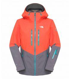 Veste ski north face orange