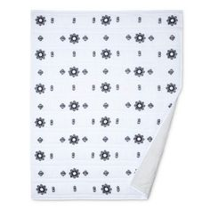 Embroidered Quilt/Coverlet - Black & White - Nate Berkus™ : Target