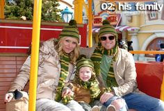 Brian Littrell - His family.