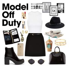 """Airplane mode"" by meljosie on Polyvore featuring Mode, Topshop, New Look, Prada, Royce Leather, Louis Vuitton, Sole Society, Cartier, BERRICLE und Yves Saint Laurent"