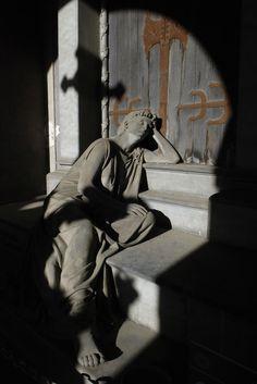 The silence - gaetanopezzella:   Genova Cimitero Monumentale di...