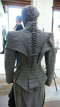 structured fabric backbone