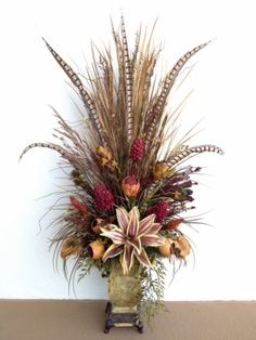 fall foyer arrangements - Google Search