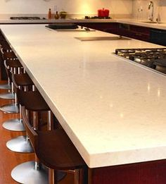 Corian Countertops Solid Surface! Much Nicer Then Granite. Love This