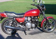 1981 KZ1000 J The bike I got my license on.