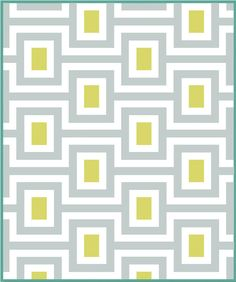 PATTERN: MIDCENTURY VMQ1302  by Vintage Modern by WeDoQuilts