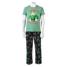 Elf 2-piece Sleep Set - Men