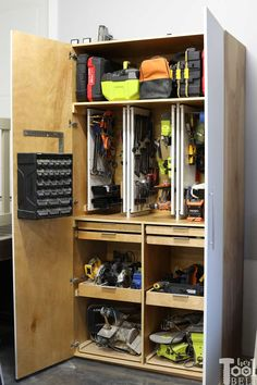 25 best garage cabinets diy images woodworking woodworking plans rh pinterest com
