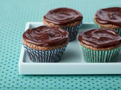 Chocolate Chip and Mascarpone Cupcakes : A combination of chocolate and mascarpone cheese creates unforgettable cupcakes that are easy to make: Top them with a ganache instead of frosting and you've got a chocolate lover's delight. via Food Network