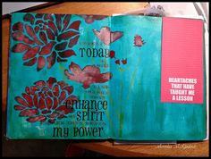 Believe Dream Create with Maria: Daily Art Journal....still going strong!