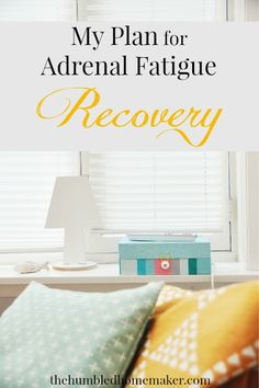 Tired of feeling tired? Check out this plan for adrenal fatigue recovery!