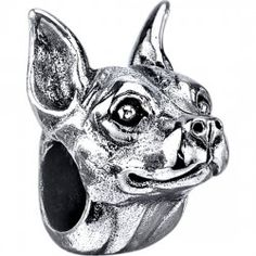 #MiniaturePinscher  |  $79.95, 925 Sterling Silver, Compatible with Trollbeads, Pandora, and Chamilia bracelets, Hand-crafted in the USA, Available at ANDREW GALLAGHER JEWELERS, Newark, DE 302-368-3380