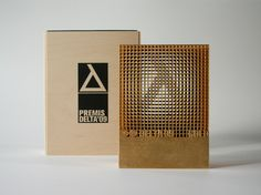 Delta'09 / Trophy by KXdesigners , via Behance