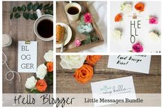 Blogger Photography & Mockup Bundle by Say Hello Photos on @creativemarket