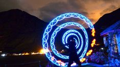 Visual Poi Improv during a beautiful night over the Sacred Valley.  Visualize how the energy flows.