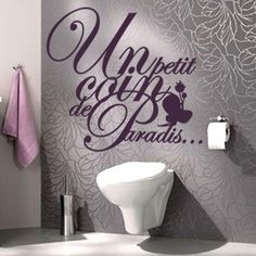 Toilettes deco on pinterest wc design credence cuisine and black toilet paper - Idee deco toilette zen ...