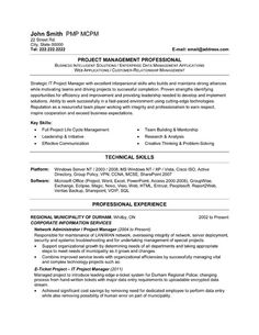 click here to download this it project manager resume template httpwww - Manager Resume Template