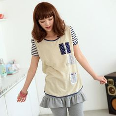Buy '59 Seconds – Pocket-Detail Short-Sleeve Top' with Free International Shipping at YesStyle.com. Browse and shop for thousands of Asian fashion items from Hong Kong and more!