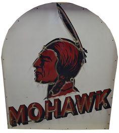 Mohawk (gasoline) SSP neon sign, valued at $20,000 to $30,000.