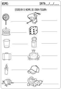 Kindergarten Addition and Subtraction Worksheets Addition And Subtraction Worksheets, Supernanny, Portuguese Lessons, Preschool Writing, Free To Use Images, First Grade Math, Classroom Activities, Professor, Gabriel