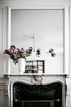 Masculine Elegant Saint Sulpice, Paris Home by Jean Charles Tomas