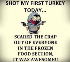 10 Thanksgiving Minion Quotes & Images