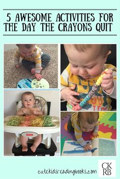 The Day The Crayons Quit — Cute Kids Reading Books