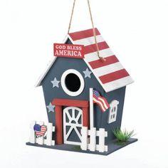 Small Patriotic Birdhouse