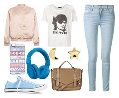 """""""#384"""" by kpopkdrama1 ❤ liked on Polyvore featuring Cameo Rose, Frame Denim, Converse, Casetify, R13, Beats by Dr. Dre, Erica Weiner, Topshop, women's clothing and women's fashion"""
