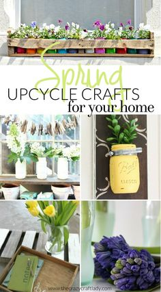 Get Ready For Spring With These Genius Repurposed Crafts The Home Inspired