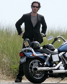 Keanu Reeves & norton Bike 2