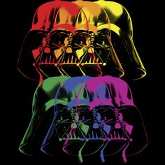 Vader in Color T-shirt Design by StarWars
