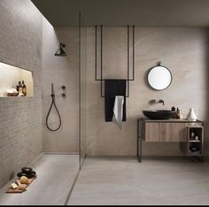 Beige Bathroom, Modern Bathroom, Small Bathroom, Stone Bathroom, Bathroom Sinks, Light Bathroom, Concrete Bathroom, White Bathrooms, Luxury Bathrooms