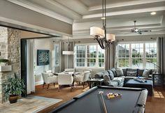 Marbella 1208 - contemporary - family room - tampa - by Arthur Rutenberg Homes
