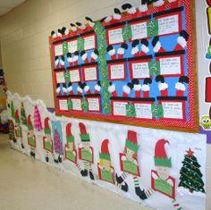 Classroom Christmas Hallway decoration
