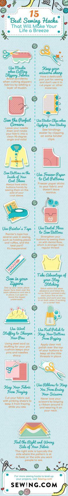 Genius Sewing Hacks to Make Your Life Easier | Best Sewing Hacks That Will Make Your Life a Breeze