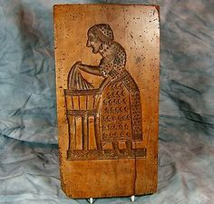 Hand Carved, Double sided Wooden Baking Mold; 18th Century
