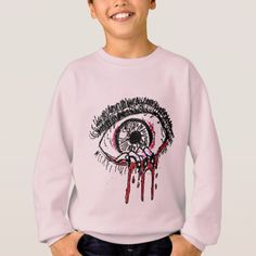 KIDS'S COMFORTBLEND SWEATSHIRT - EVIL EYE - Halloween happyhalloween festival party holiday