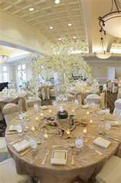 Neutral colors with white...Wedding reception