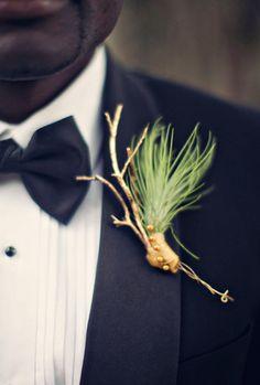 African Wedding Inspiration | Boutonniere Mariage thème ethnique !