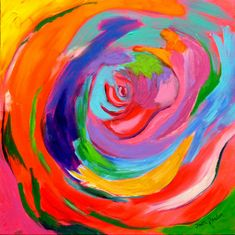 "Awesome ""abstract art paintings to inspire"" information is readily available on our internet site. Read more and you wont be sorry you did. Rainbow Painting, Rainbow Art, Rainbow Colors, Funky Art, Contemporary Abstract Art, Colorful Paintings, Psychedelic Art, Original Paintings, Art Paintings"