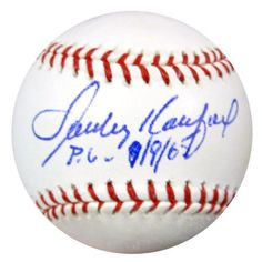 b1f266a05e7 Sandy Koufax Brooklyn Dodgers Signed 3x5 Index Card PSA D28127 ...