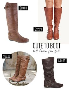 Cute to boot: tall boots for fall // At Home in Love
