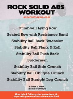 Awesome Abs Workout!